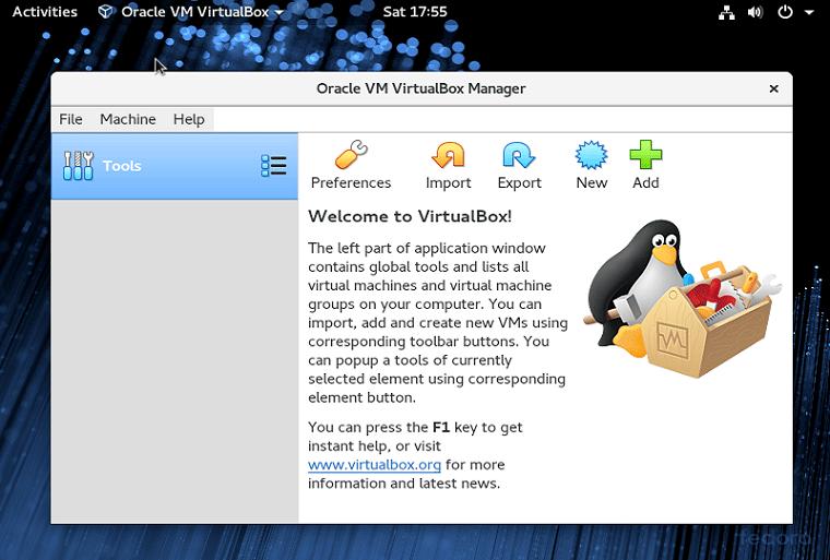 Cara Install Oracle VirtualBox 6.0 di Fedora Linux