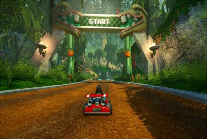 Game Linux Gratis - Super Tux Kart