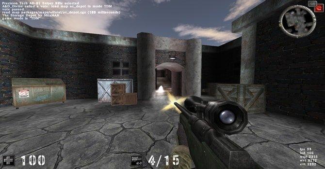Game Linux Gratis - AssaultCube