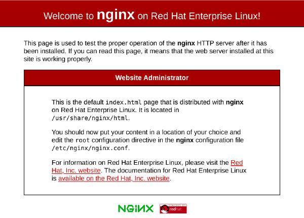 Nginx Index CentOS