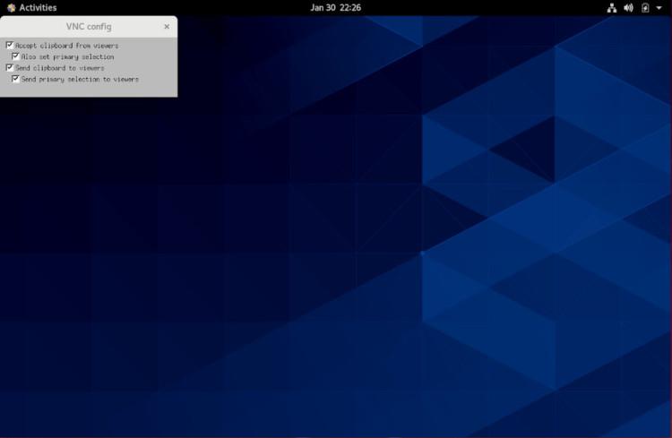 vnc desktop