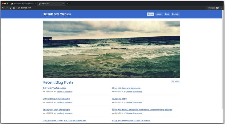 Page 4 - Default website