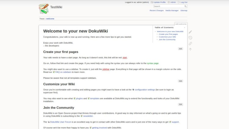 page 5 - Welcome to DokuWiki