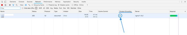 Pengaturan Brotli di CentOS 8
