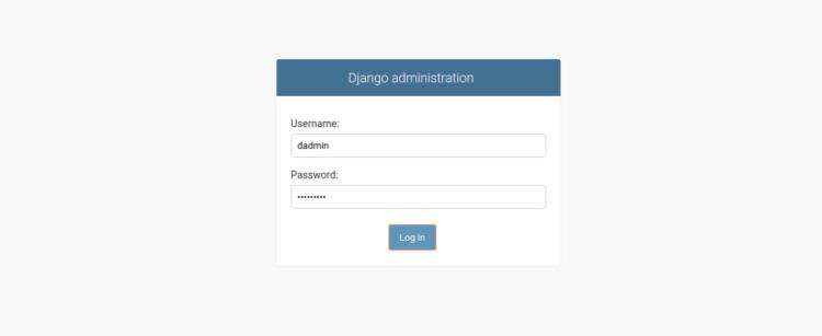 Django Administration di CentOS 8