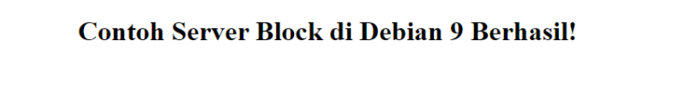 index server debian 9