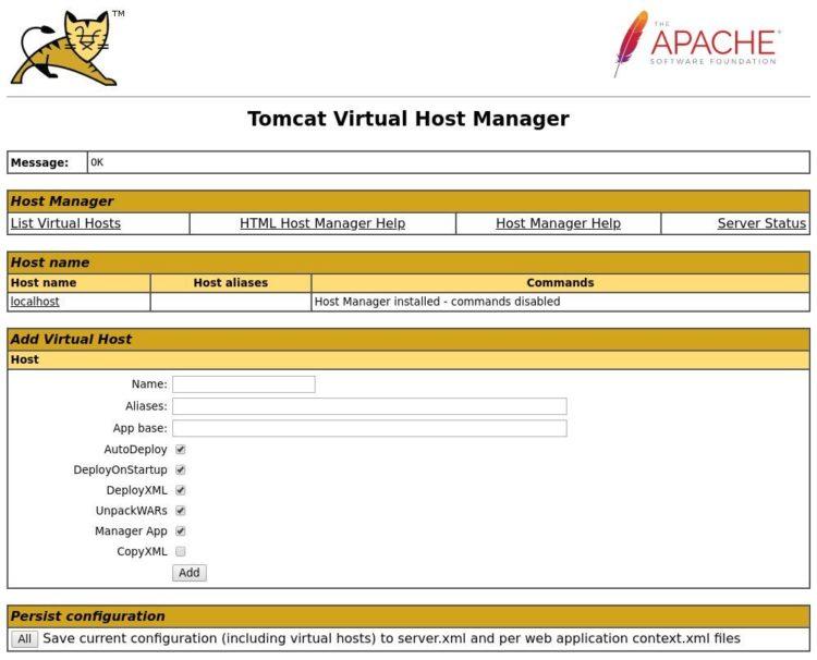 tomcat-host-manager