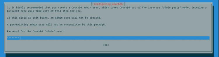 couchdb create admin