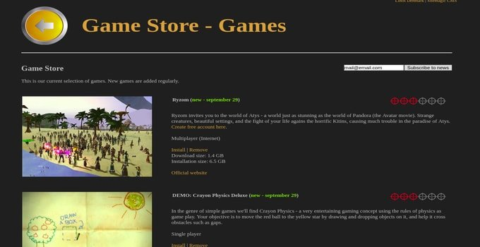 Game Drift Game Store
