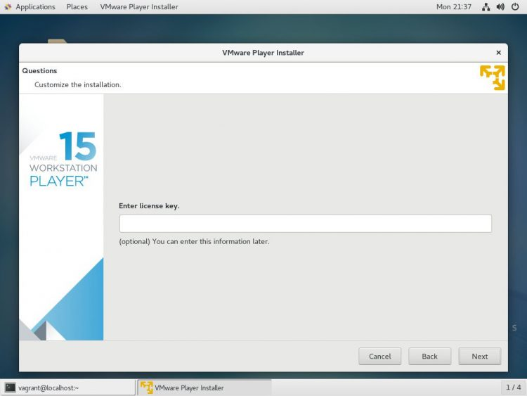 centos-vmware-license-key