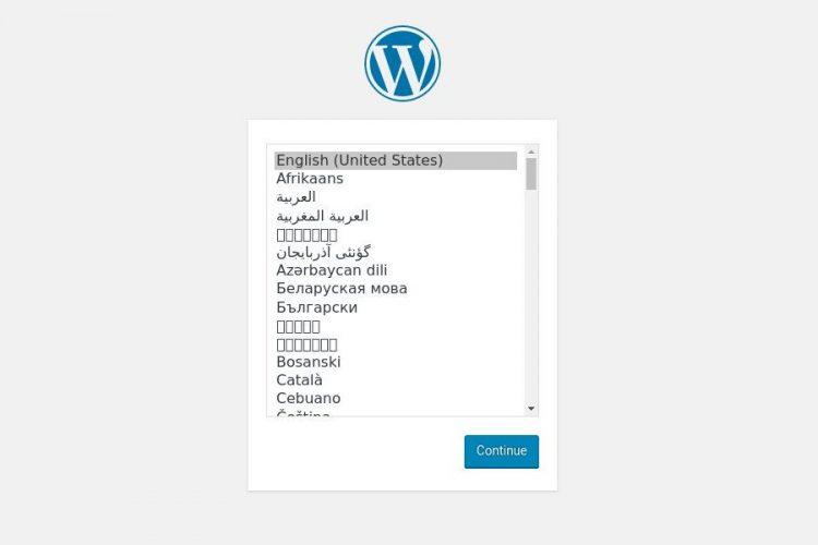 install wordpress CentOS