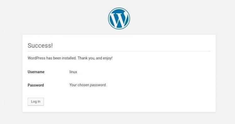 install wordpress komplit