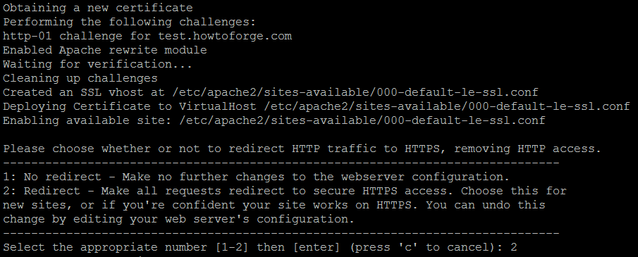 Redirect HTTP requests