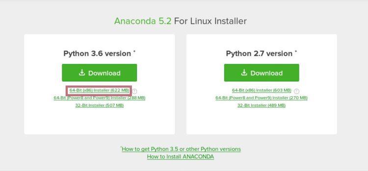 ubuntu download anaconda