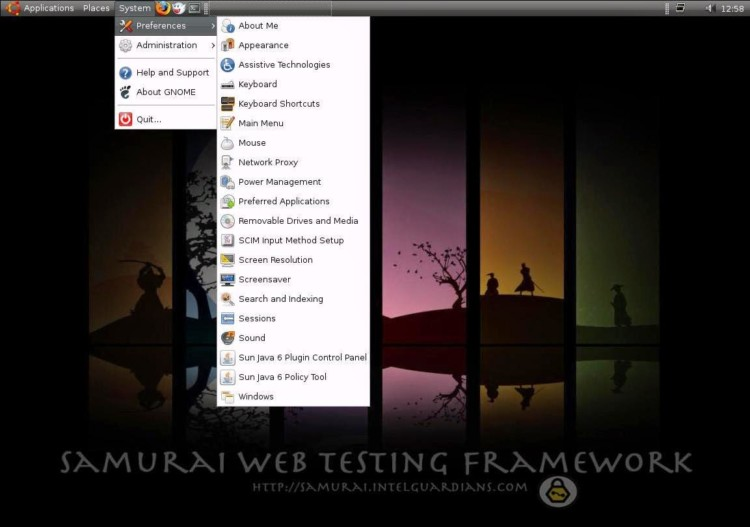 Samurai Web Testing Framework