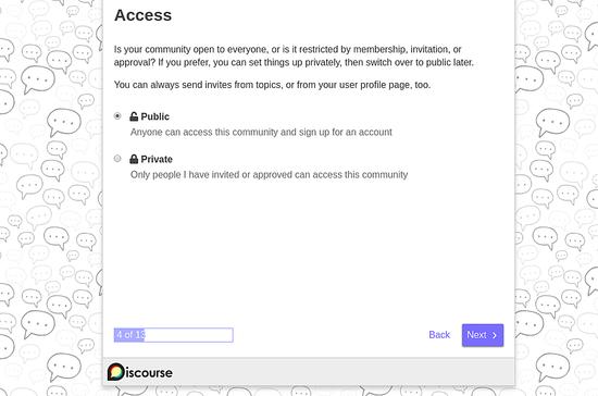 Configure Access Priveliges