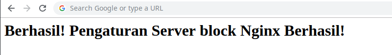 server block nginx