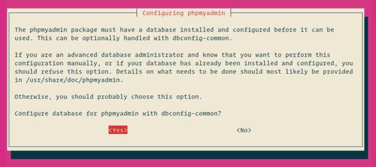 Konfigurasi web server phpmyadmin 2