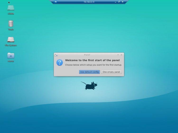 xrdp xfce desktop