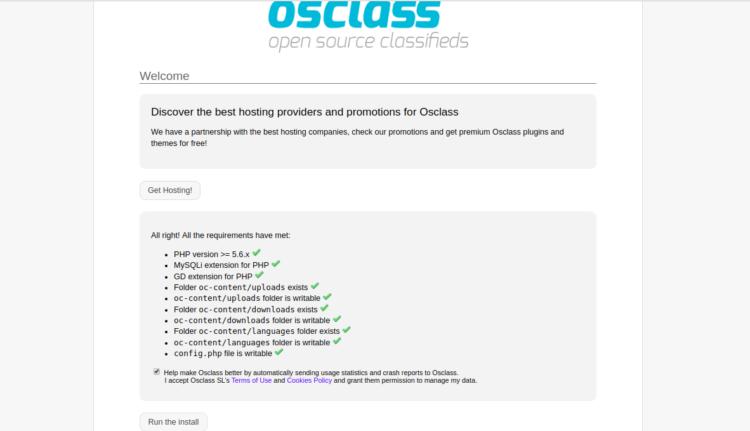 Tutorial Membuat Situs Iklan Baris dengan OSClass di Ubuntu 2