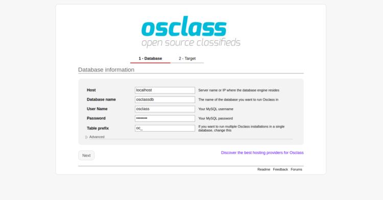 Tutorial Membuat Situs Iklan Baris dengan OSClass di Ubuntu 3