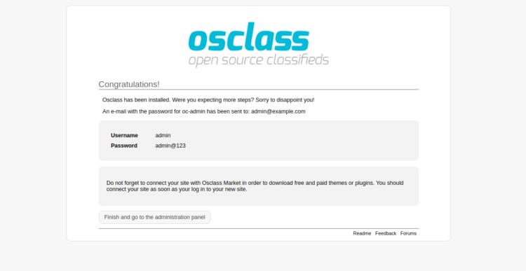 Tutorial Membuat Situs Iklan Baris dengan OSClass di Ubuntu 5
