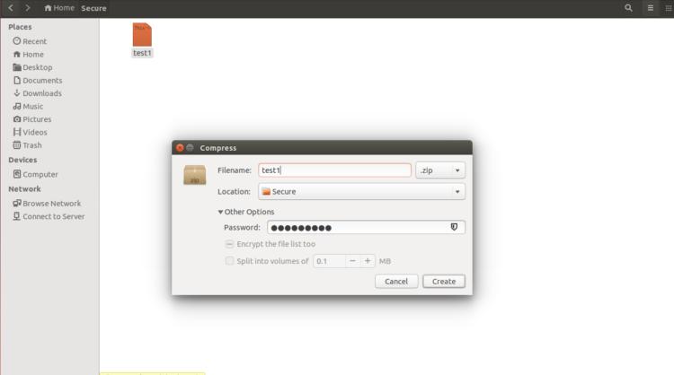Compress File dengan Kata Sandi 2