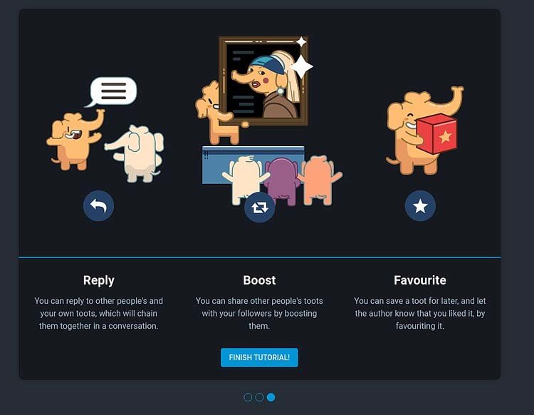 Page 4 - Mastodon Reply - Boost - Favourite