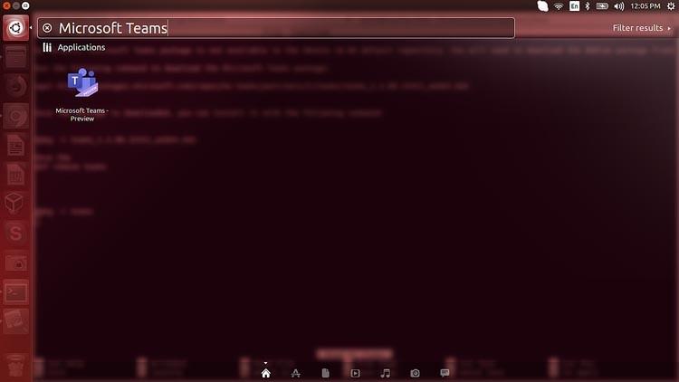 Microsoft Teams Ubuntu 1